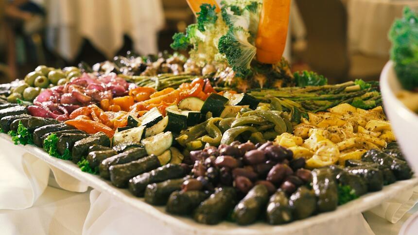 veggie plate