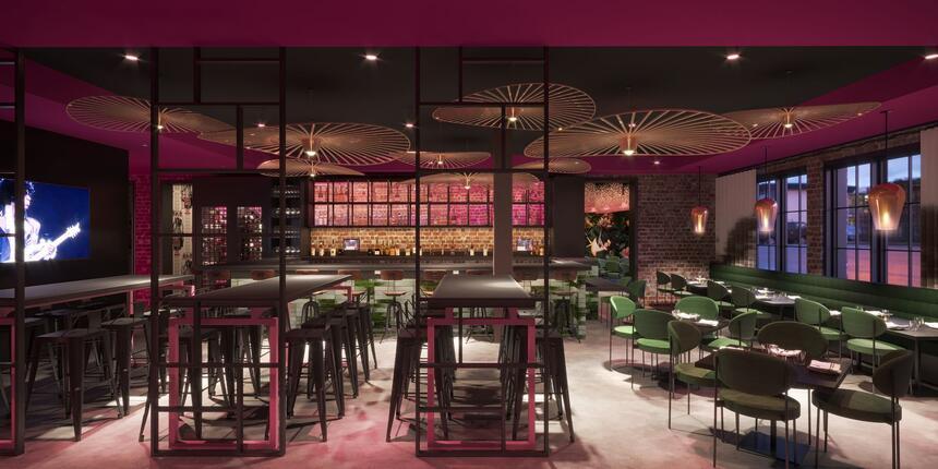 The Dial Restaurant & Bar Interior
