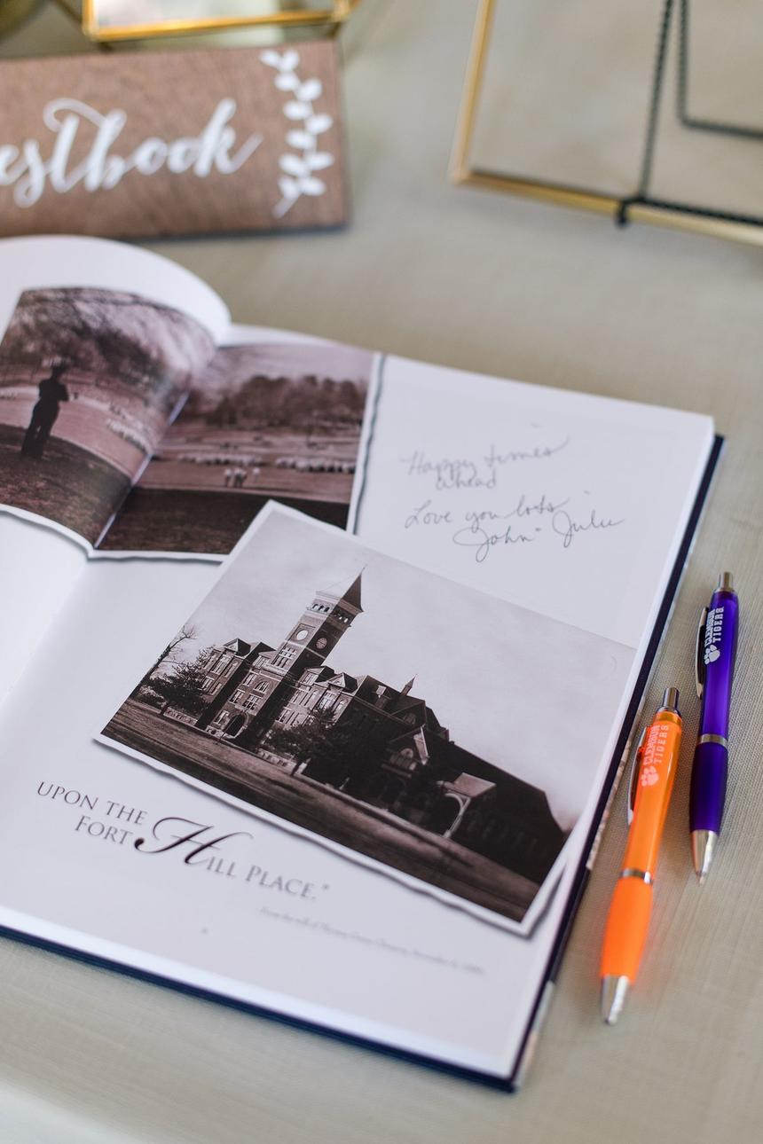 book with signatures in it