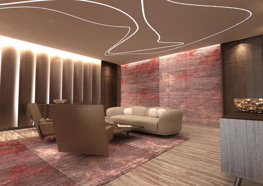 Business Lounge at Jouri, A Murwab Hotel in Doha, Qatar