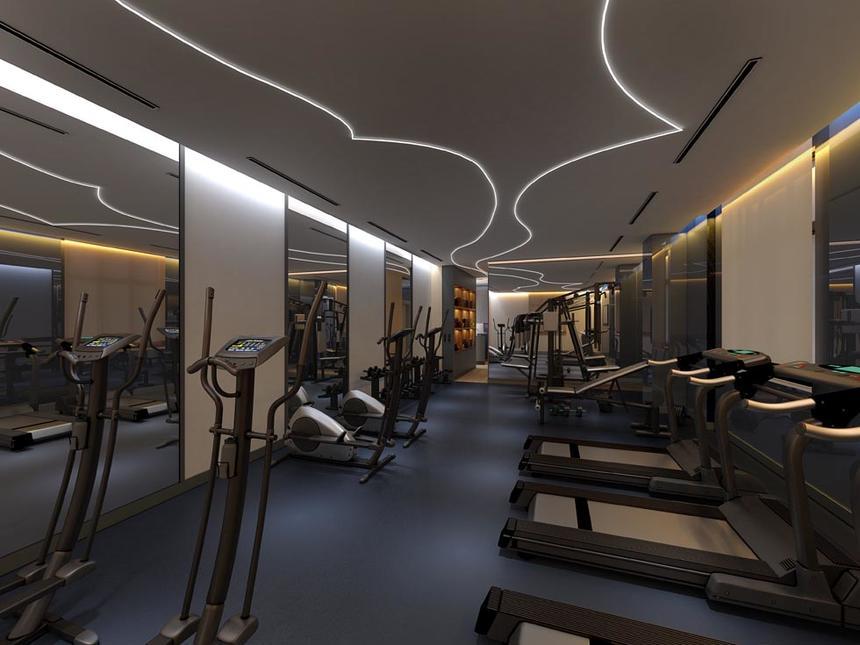 Gym at Jouri, A Murwab Hotel in Doha, Qatar