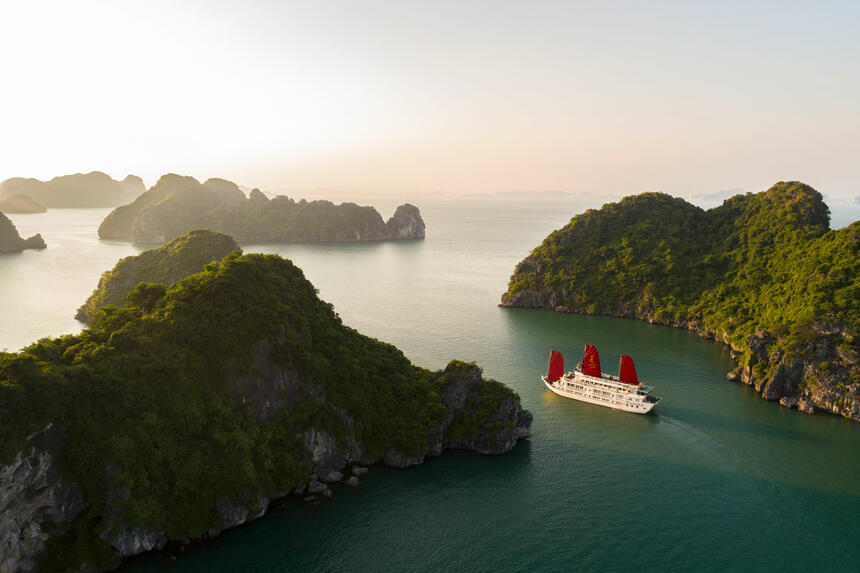 Syrena Cruises - Best Halong Bay Cruises  - View