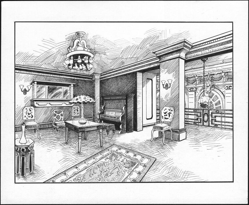Piano Room Sketch