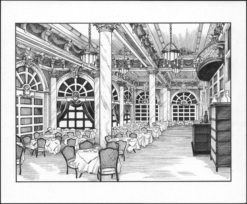 Main Dining Room Sketch