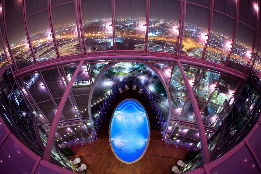 Swimming Pool at The Torch Doha Hotel in Qatar