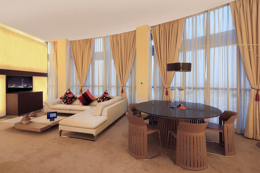 Diplomatic Suite at The Torch Doha Hotel in Qatar