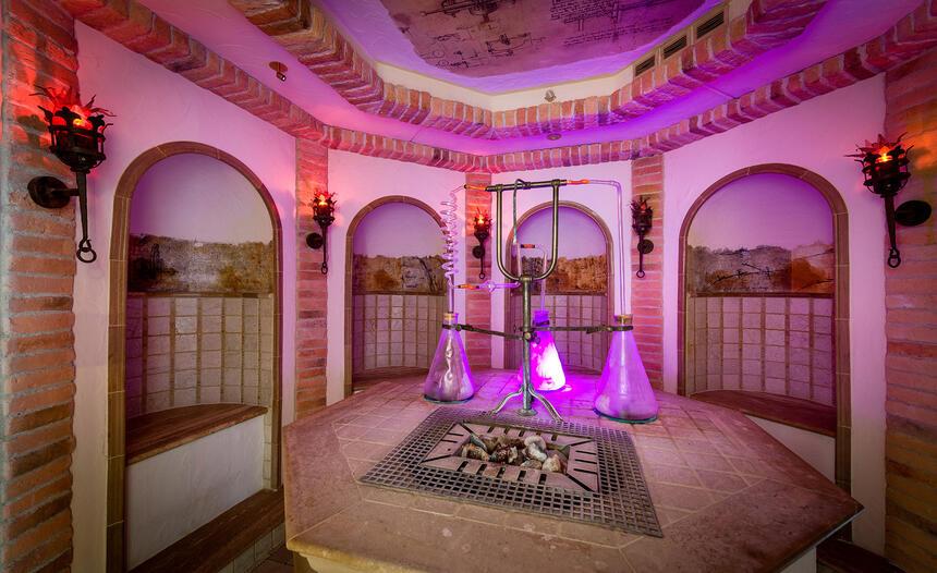 Cinderella Castle Spa im Hotel Liebes Rot Flüh, Haldensee Tirol