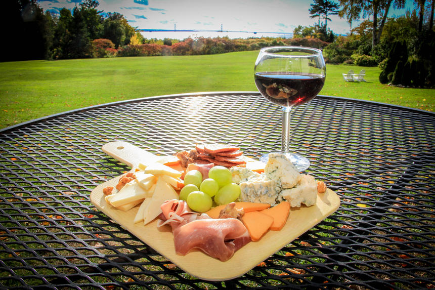 Wine & Cheese Plate - The Lawn
