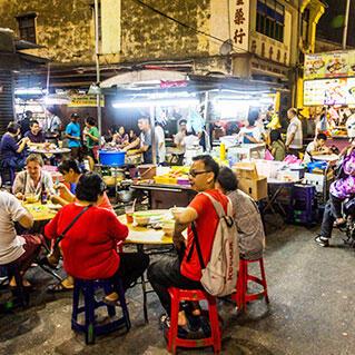 penang local street stalls