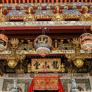 One of the chinese old temple in penang