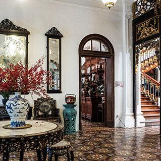 A glimpse of pinang peranakan mansion, a 19th century baba home