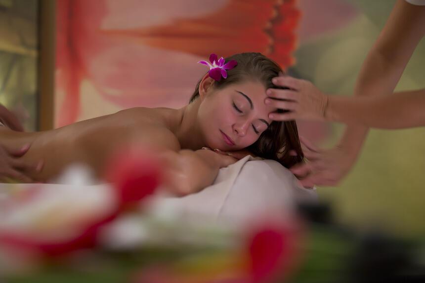 Imagen de mujer en masaje
