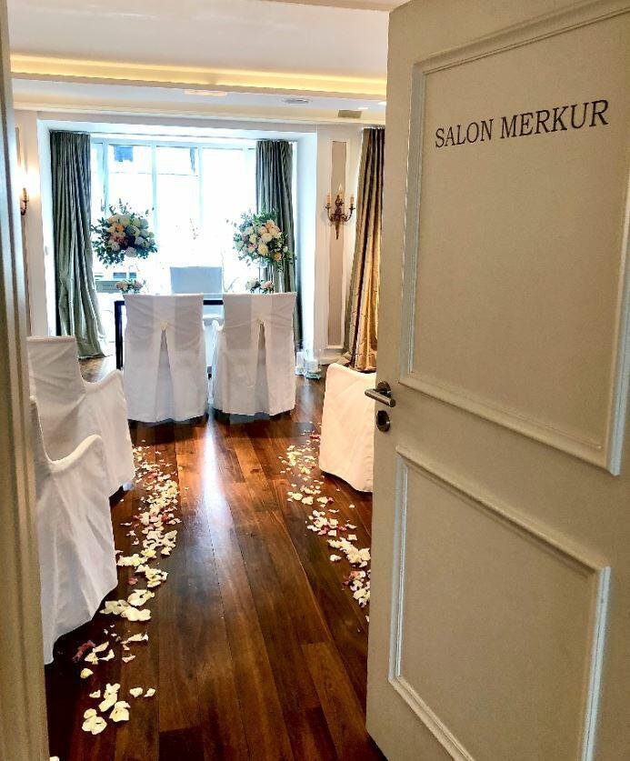 Hochzeit im Hotel München Palace
