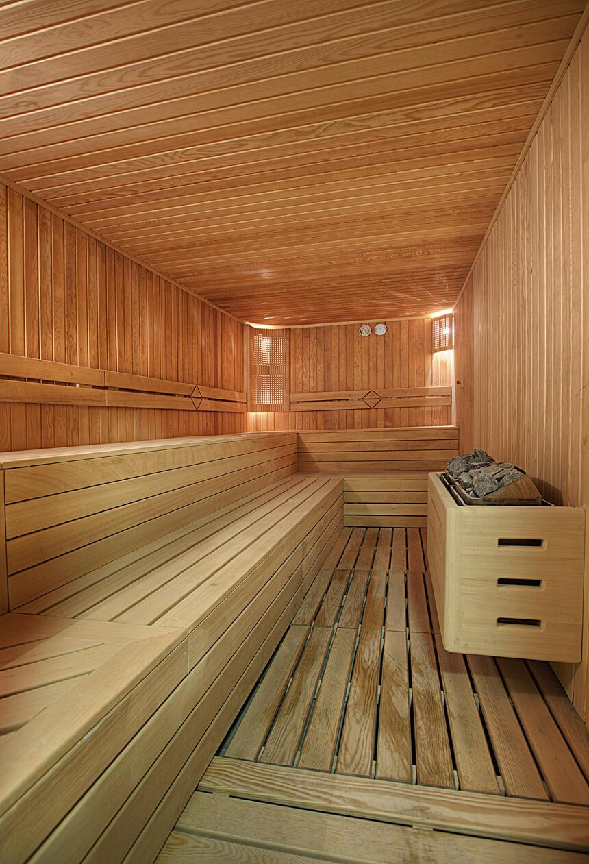 Sauna at Hotel Arcadia Blue Istanbul