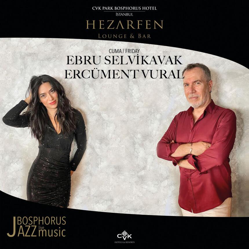 Ebru Selvikavak and Ercumentvural event poster