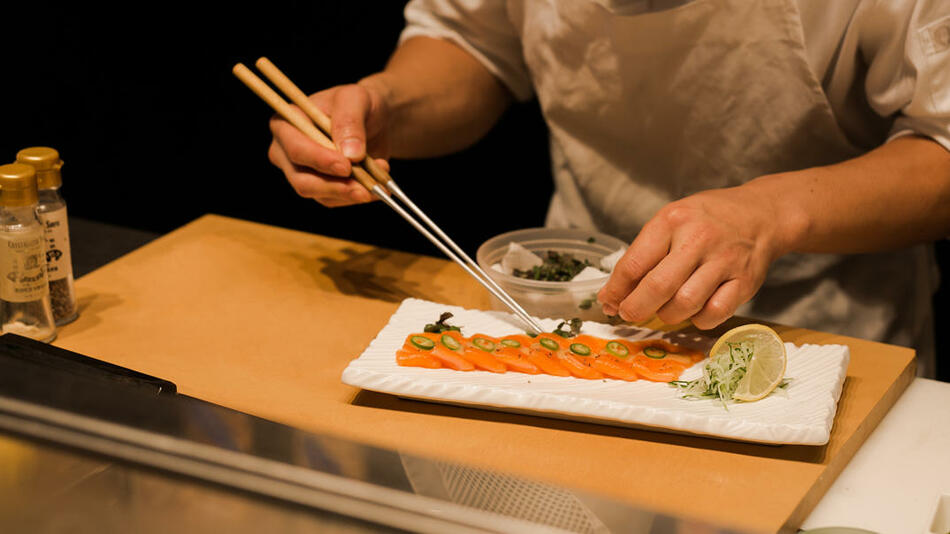 The Plymouth South BEach Dining - Blue Ribbon Sushi Bar & Grill