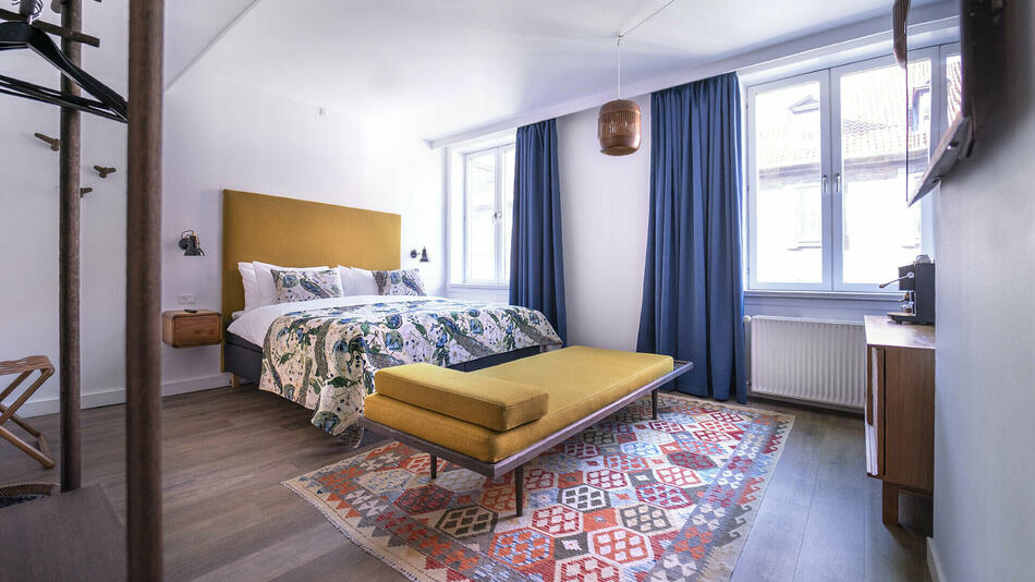 The lux - Deluxe double room at hotel h27 Copenhagen