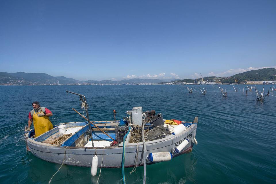 A fishing boat -   Grand Hotel Portovenere