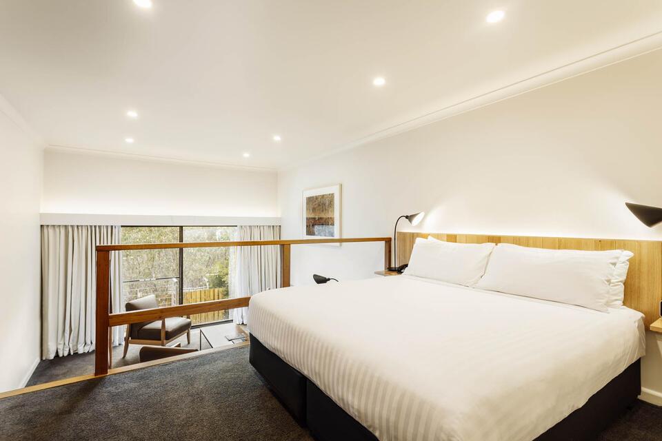 Split Level King Room at Cradle Mountain Hotel