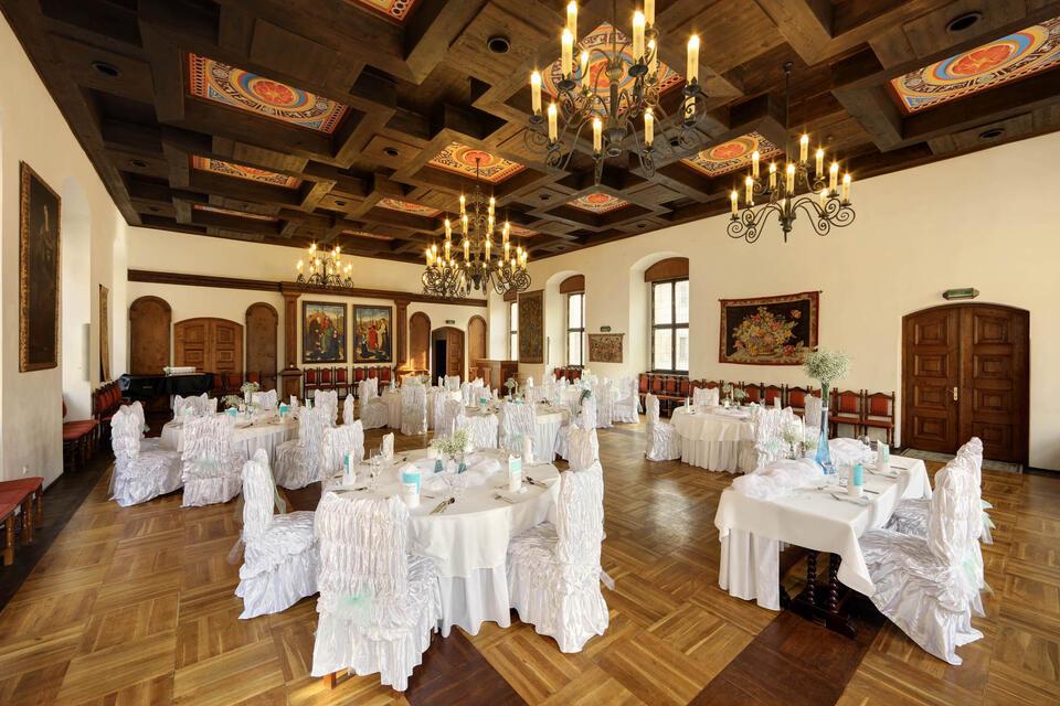 Wedding Banquet at Hotel Ruze, Český Krumlov, Czech Republic