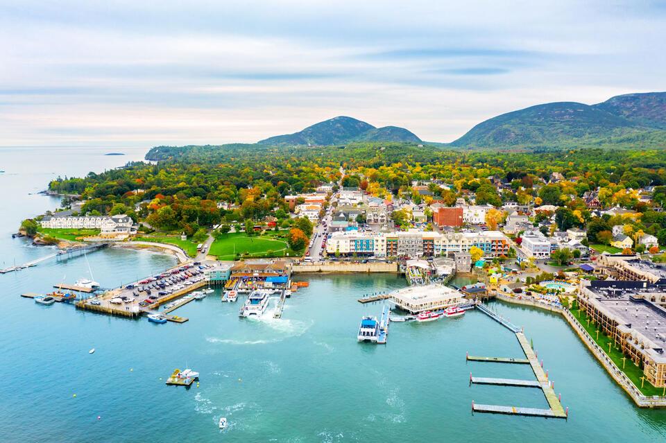 bar harbor maine bay