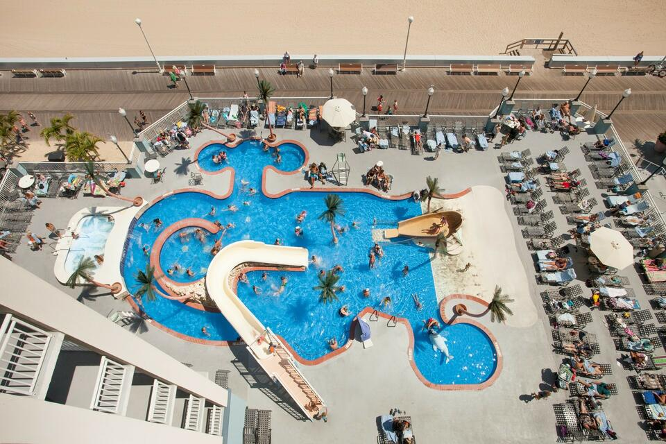 Aerial view of pool at Holiday Inn Hotel & Suites Ocean City