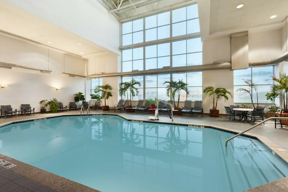 Indoor pool area at Holiday Inn Hotel & Suites Ocean City