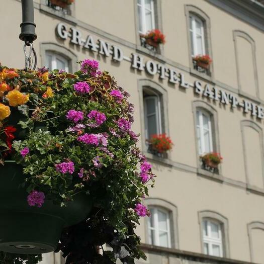 An exterior view of the Grand Hôtel Saint-Pierre