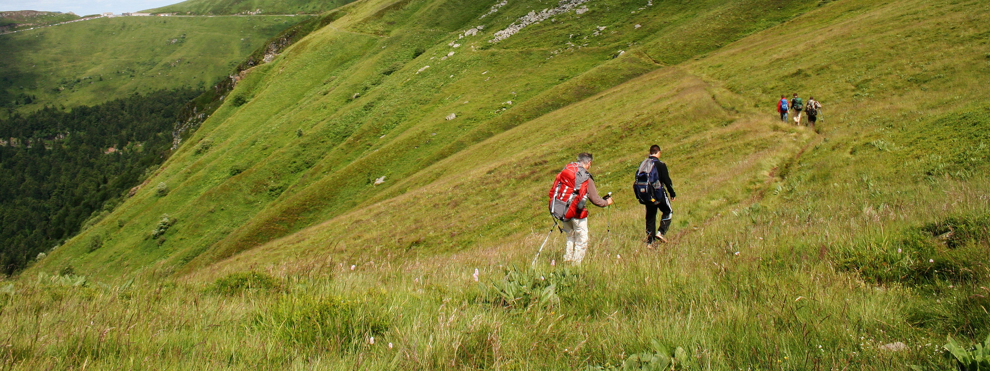 The most beautiful walking and hiking trials in Auvergne