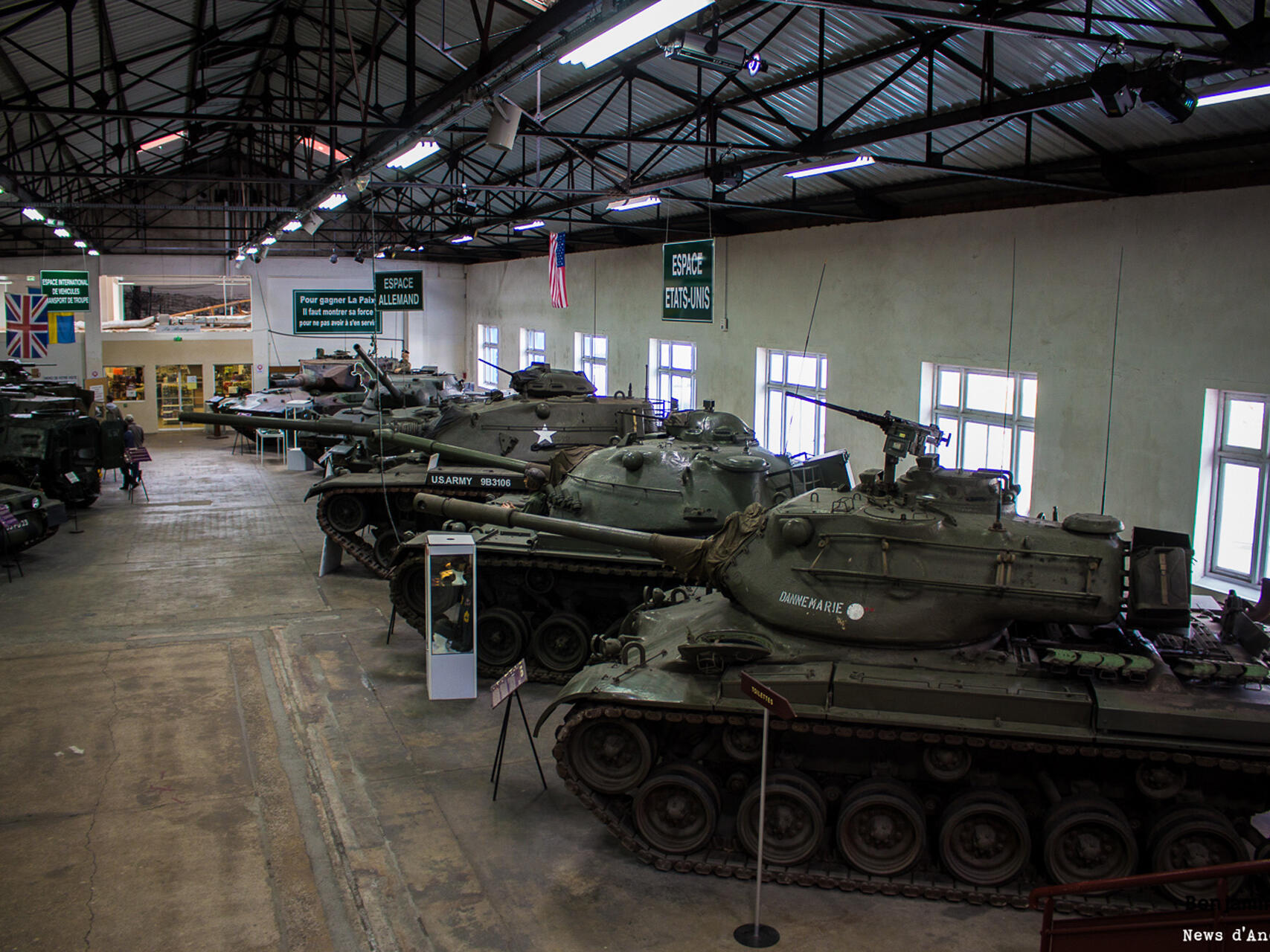 Tank Museum- Musee des Blindes