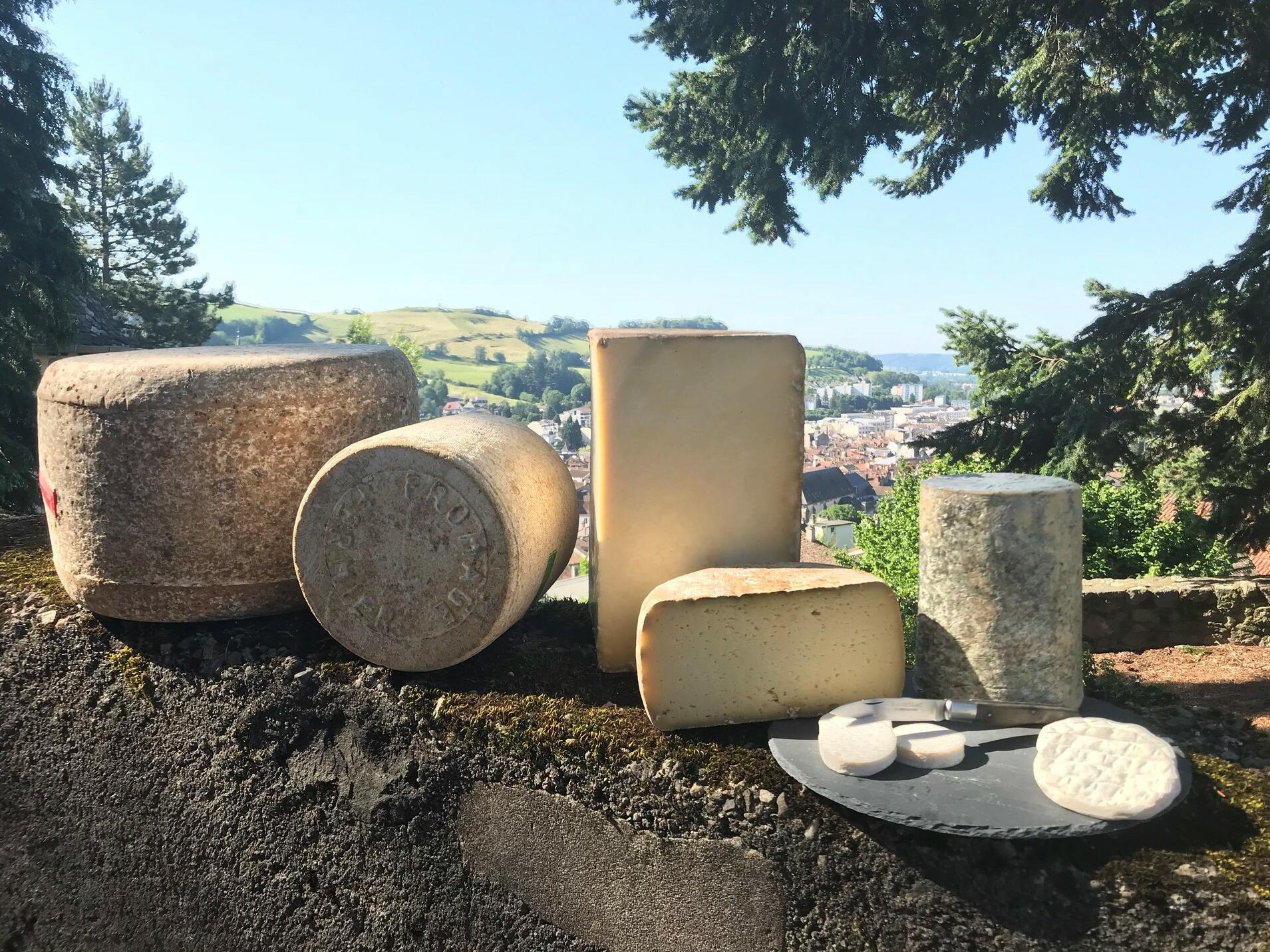Cantal Cheese Trail
