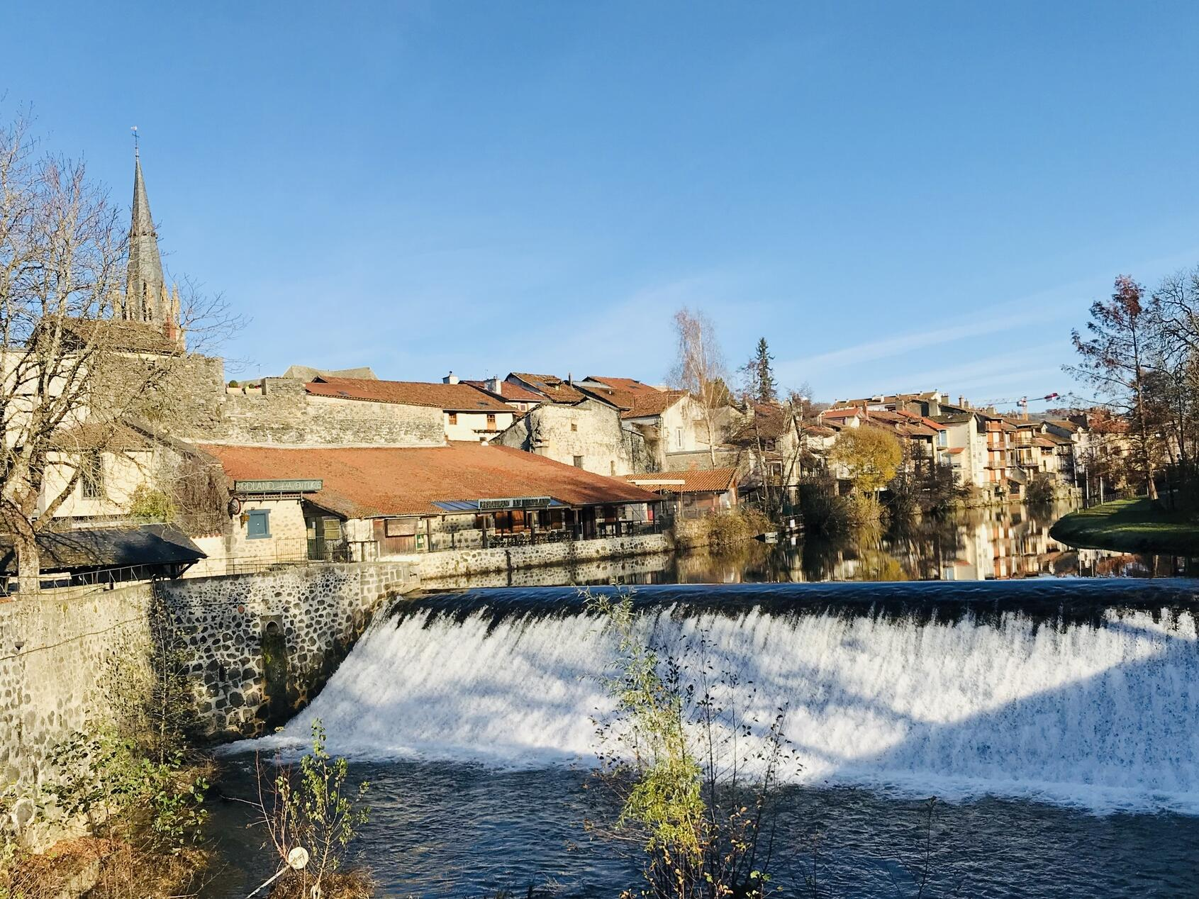 The Town of Aurillac