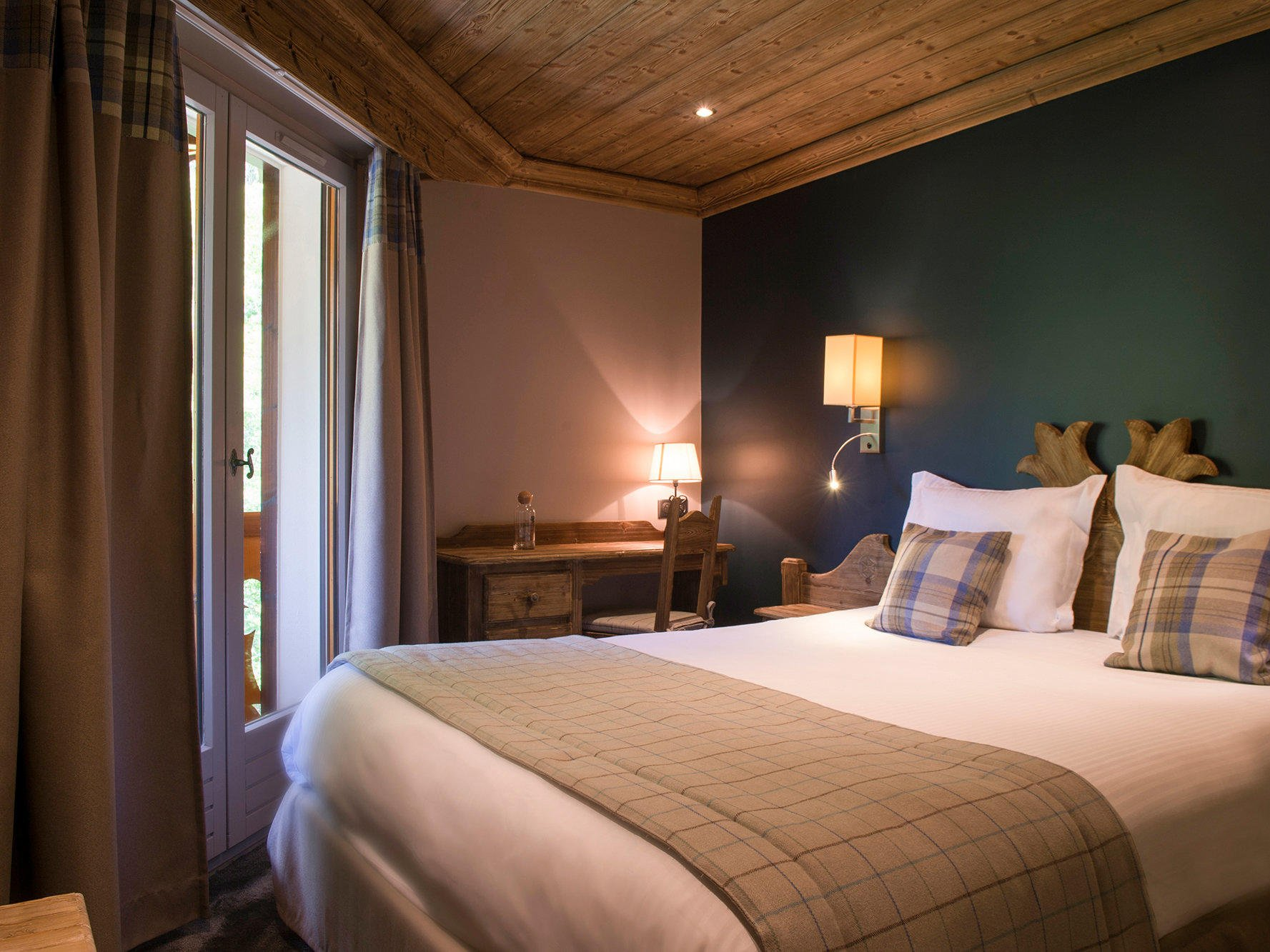 Standard Double Room at Hotel Gentianettes, The Originals Relais