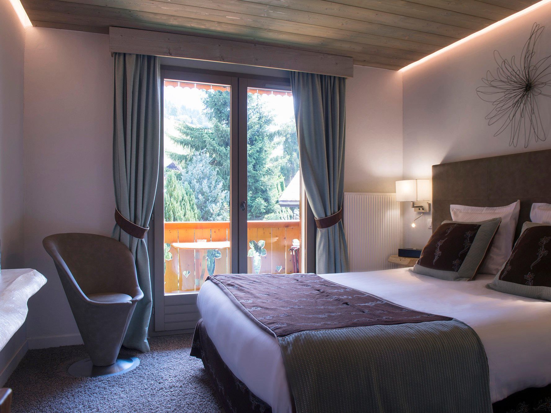 Superior Double Room at Hotel Gentianettes, The Originals Relais