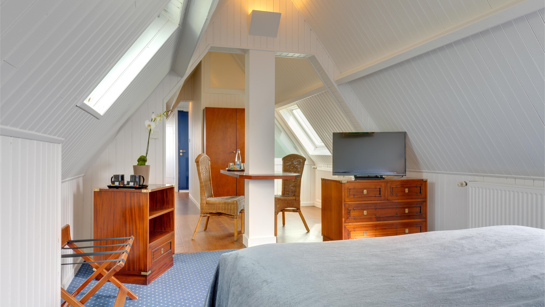 Room Paquebot at Ar Men Du Hotel in Névez, Brittany