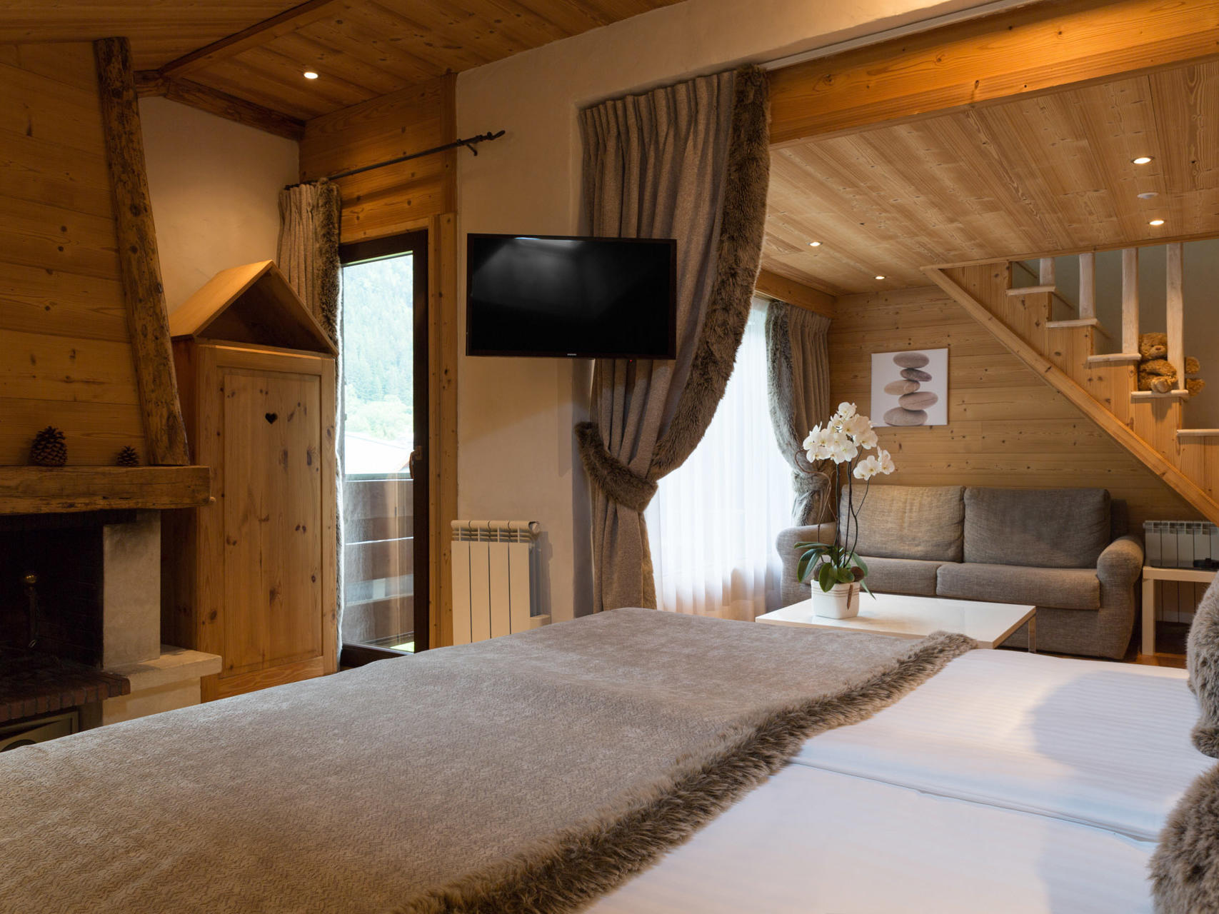 Suite at Chalet Hôtel La Chemenaz in Les Contamines-Montjoie