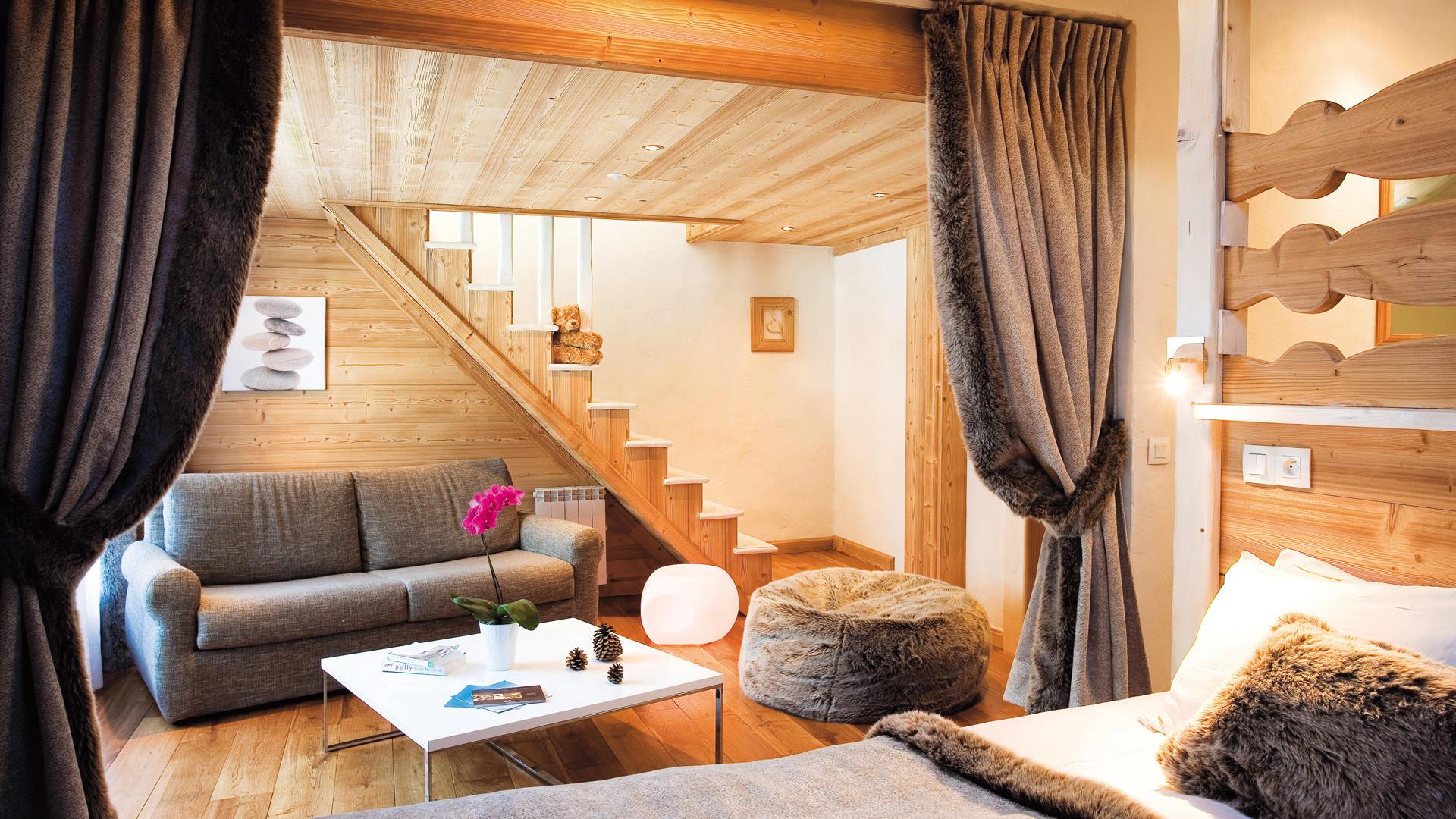 Suite at Chalet Hôtel La Chemenaz in Les Contamines-Montjoie