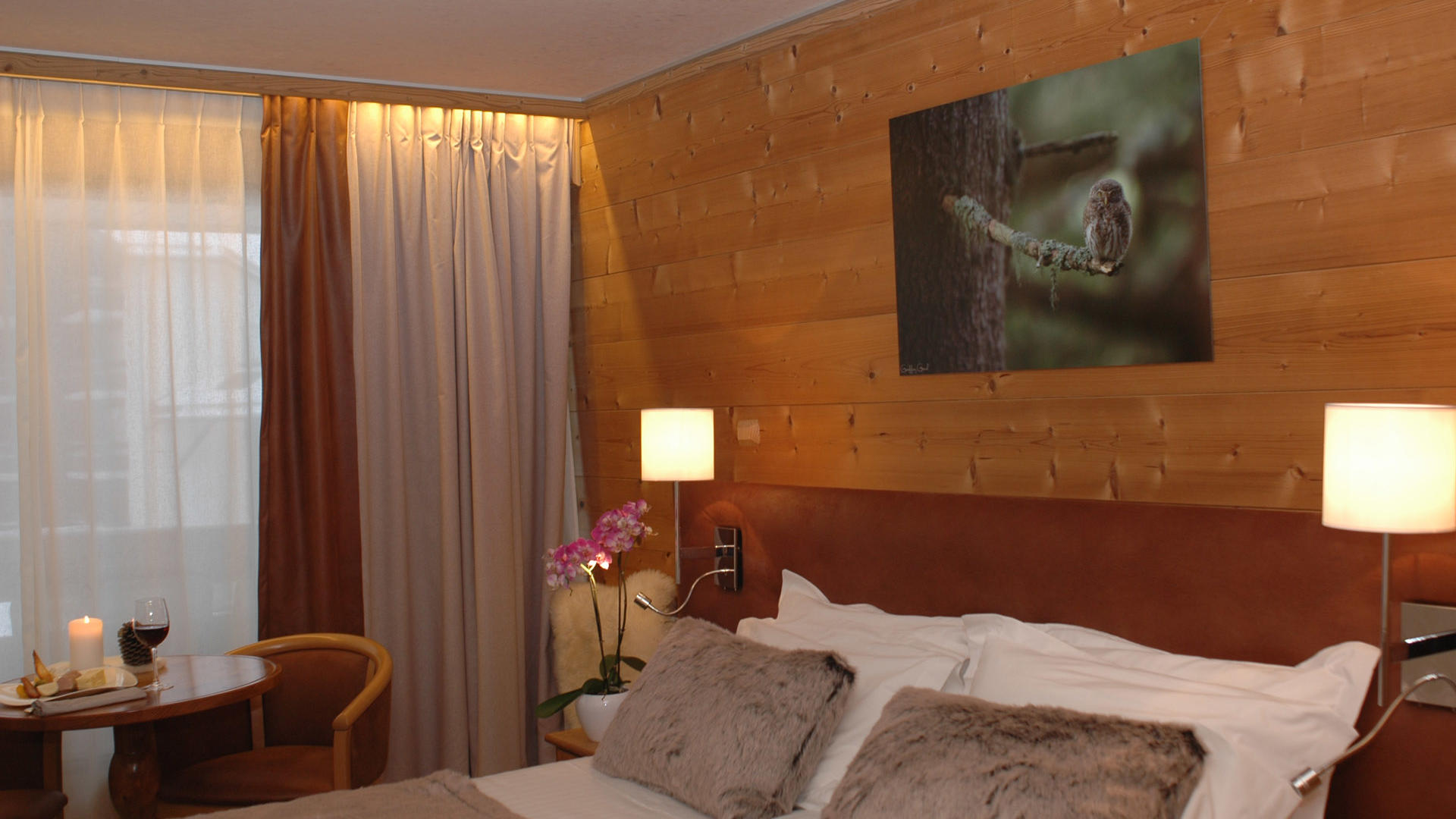 Room at Chalet Hôtel La Chemenaz in Les Contamines-Montjoie