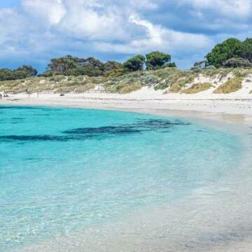 The beach near Be Fremantle