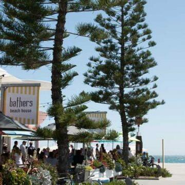 Exterior view of the Bathers Beach House near Be Fremantle