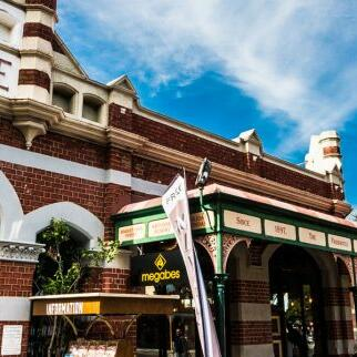 Historic building in Fremantle near Be Fremantle