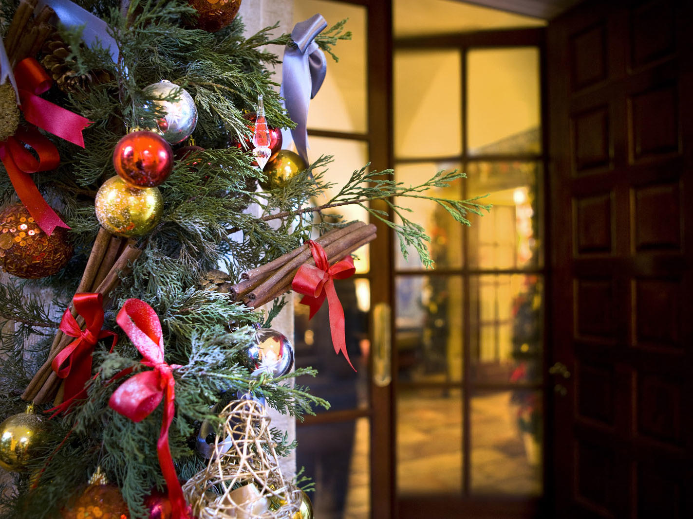Christmas at The American Colony Hotel in Jerusalem