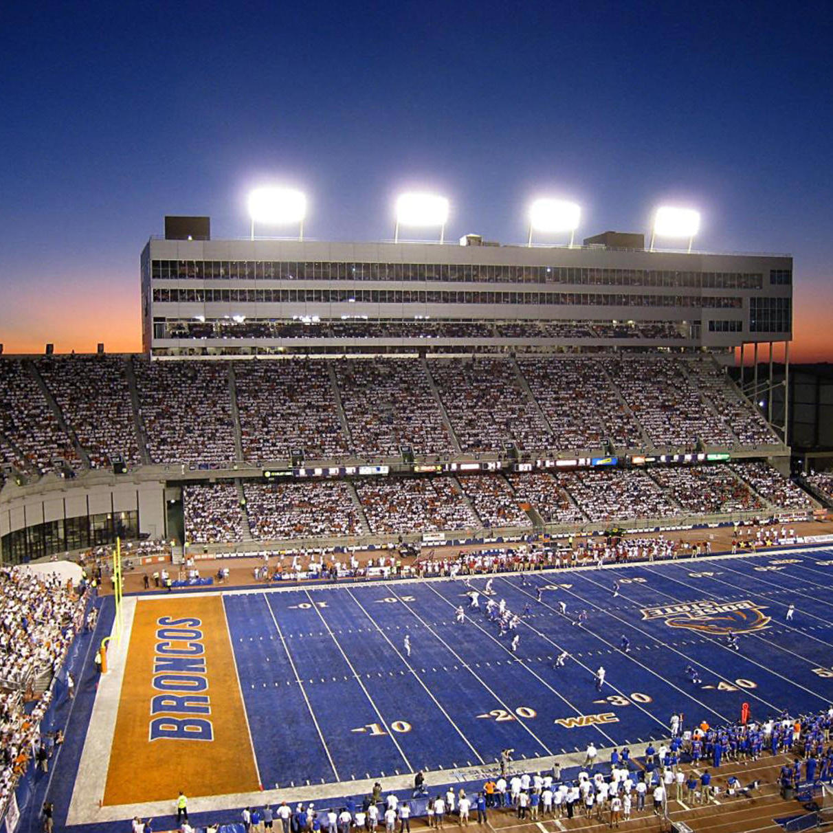 Home Boise State Football Game