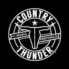logo for country thunder music festivals