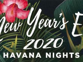 New Year's Even 2020 banner