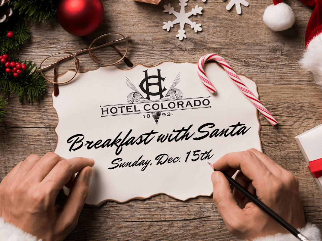 Breakfast with Santa at the Hotel Colorado