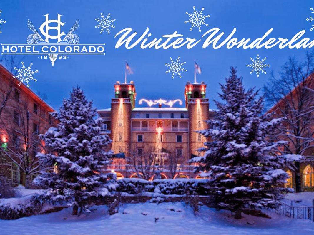 Winter Wonderland at the Hotel Colorado