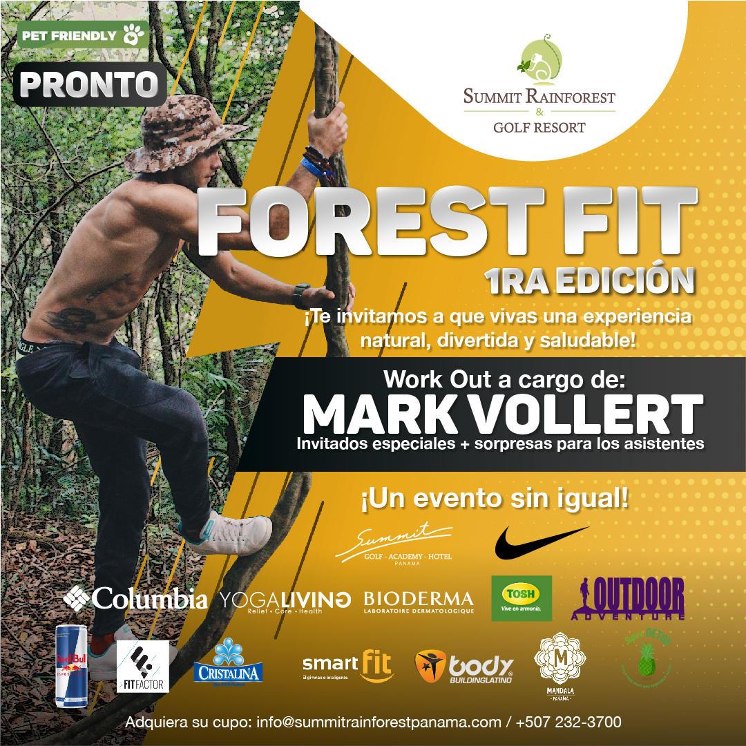 Banner de ajuste forestal