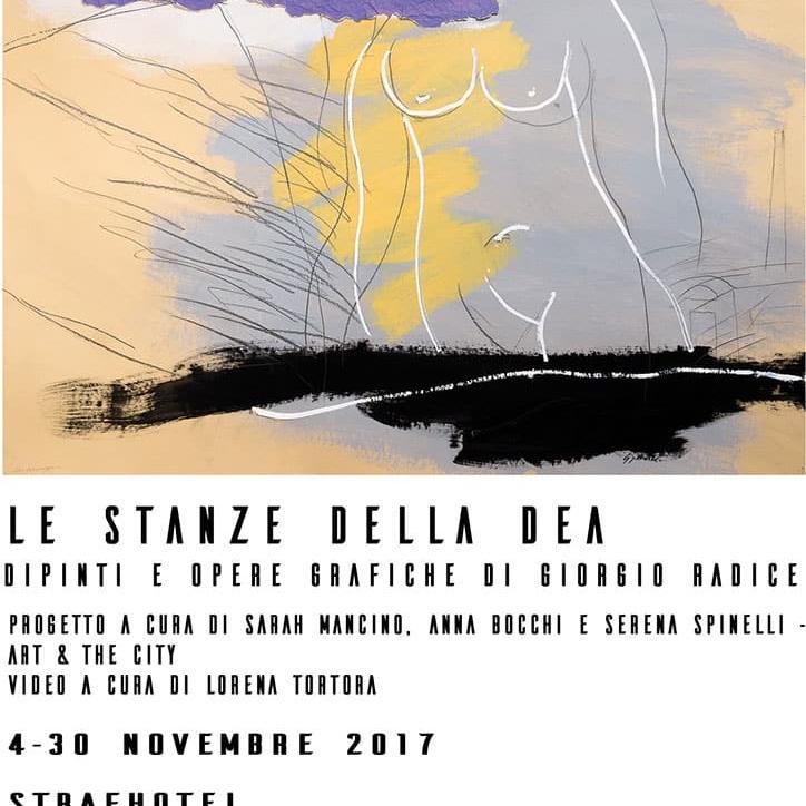 """Mostra """"Le Stanze della Dea"""" di Giorgio Radice"""