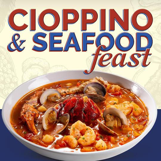 Cioppino and Seafood Feast Logo